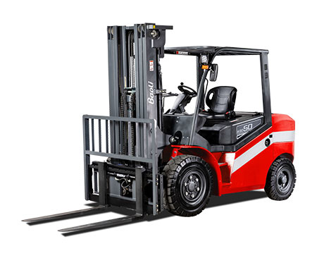 Internal Combustion Counterbalanced Pneumatic Tire Truck